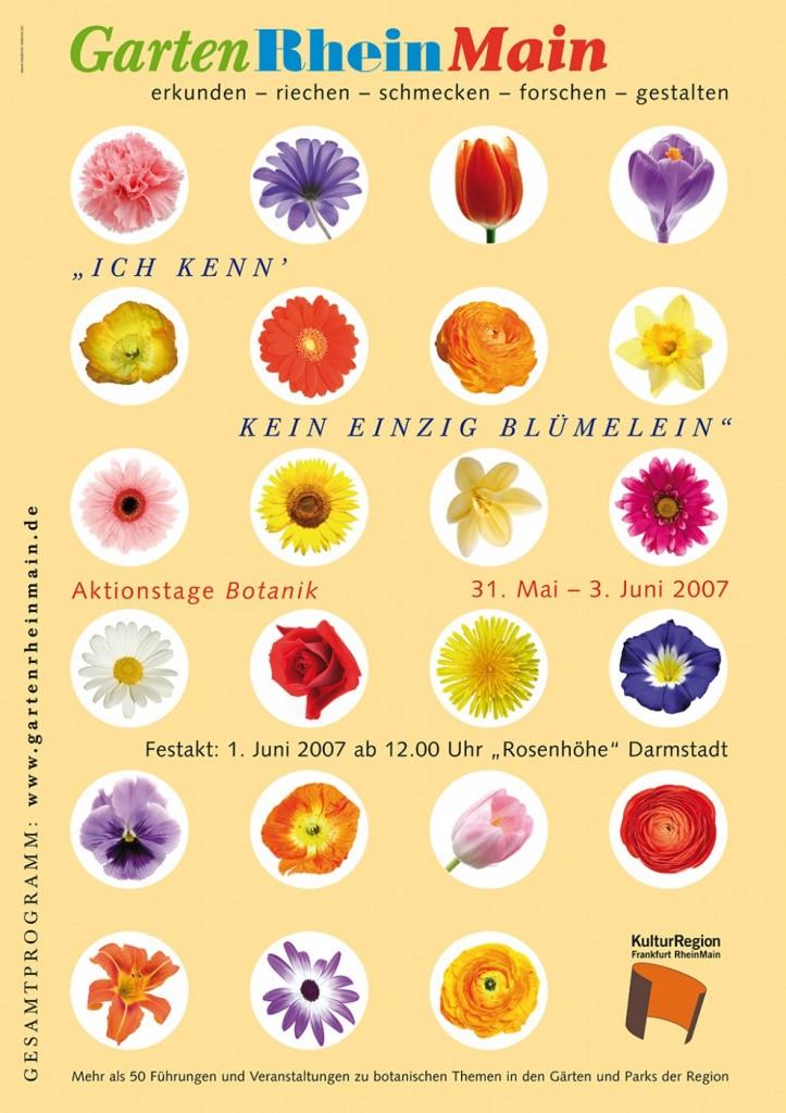 GartenRheinMain Jahresthema Botanik 2007