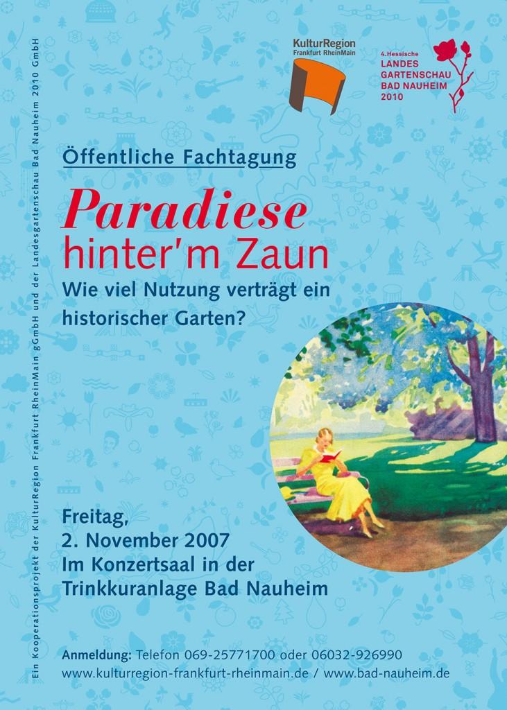 GartenRheinMain – Tagung BadNauheim