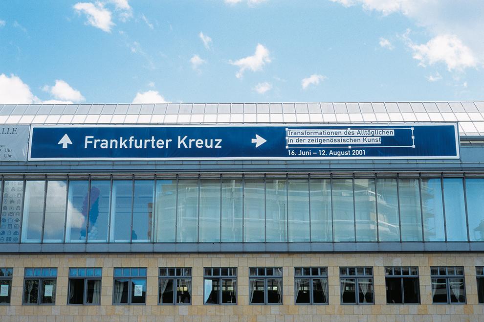 Frankfurter Kreuz Banner