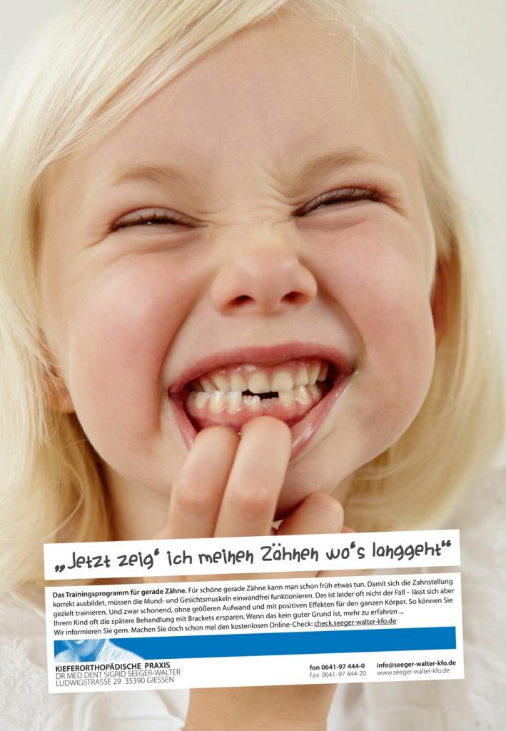 """Dr. Seeger-Walter """"Jetzt zeig' ich meinen Zähnen wo's langgeht"""""""